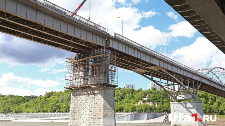 В Стерлитамаке из-за аварийного состояния ограничат движение по мосту через Белую