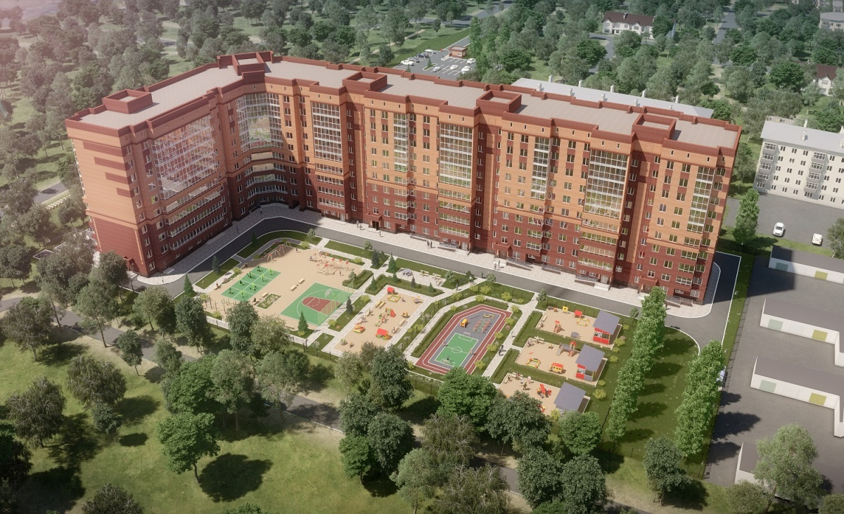Молодые семьи выбирают жилой комплекс с парком у подъезда и двушками от 14 850 рублей в месяц