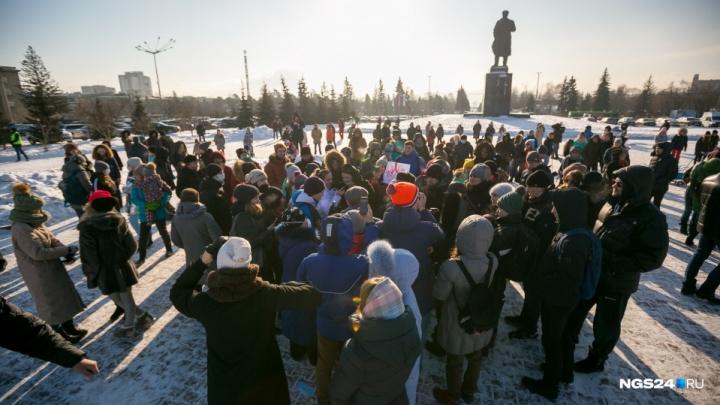 Протест против повышения цены на проезд в Красноярске решили устроить перед зданием правительства