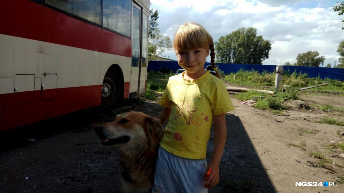 Катя очень любит свою собаку Ладу, та частенько перебегает через оживленную дорогу, чтобы ее навестить