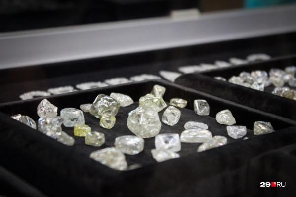 В этом году в Архангельской области добыли самый крупный алмаз во всей Европе