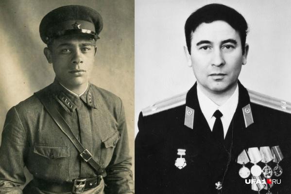 Депутат-красноармеец Олег Красавин (слева) и его сын Олег Олегович, прошедший Афган
