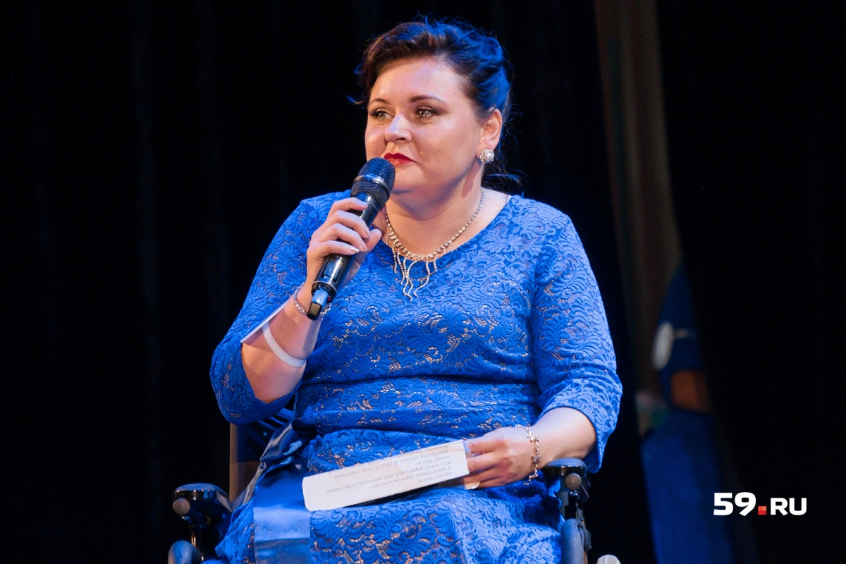 Оксана Медянникова приехала, чтобы побороться за корону, из Саратовской области