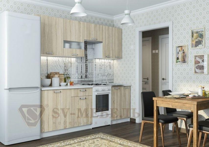 Самое выгодное предложение для небольшой кухни — гарнитур «Розалия» за 9600 рублей