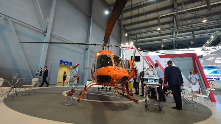 Пострадавших в ДТП свердловчан будут эвакуировать на новых уральских вертолетах