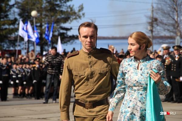 Торжественное мероприятие прошло 9 мая на площади Мира