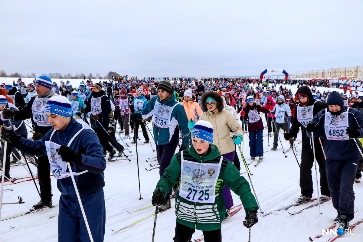 «Лыжня России» в этом году побила рекорд по количеству и разнообразию участников