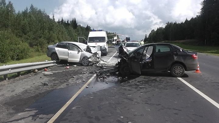 Женщины, пострадавшие в лобовом ДТП на трассе Пермь — Екатеринбург, впали в кому