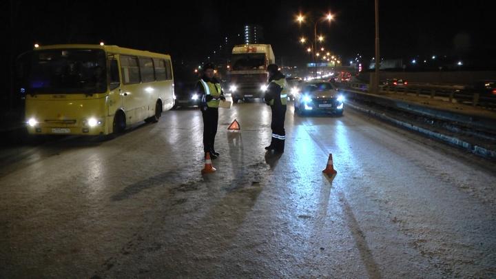 На Объездной автодороге пешехода сбили сразу два автомобиля