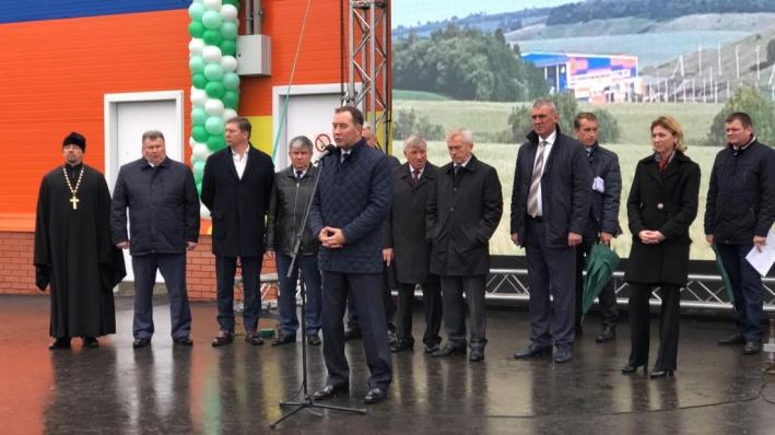 Открытие посетили первые лица области и благотворители