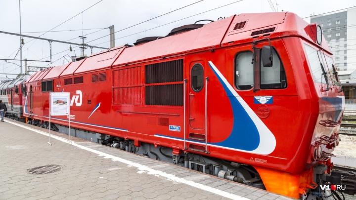 Волгоградцам на вокзале покажут старые паровозы и современные тепловозы