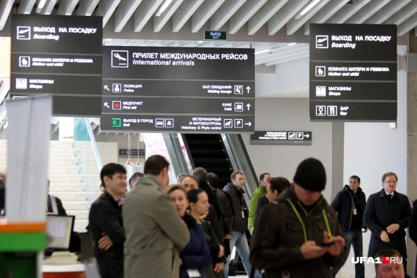 Пассажиры потеряли много времени, сев в Уфе