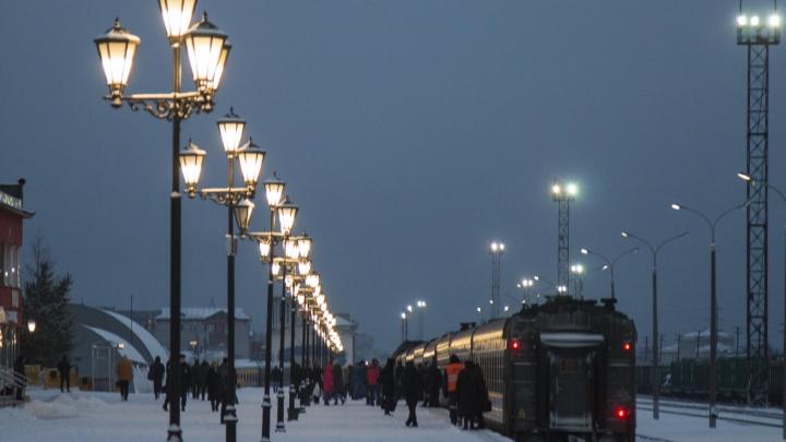 Из-за ремонта на железной дороге ограничена продажа билетов на поезда из Архангельской области