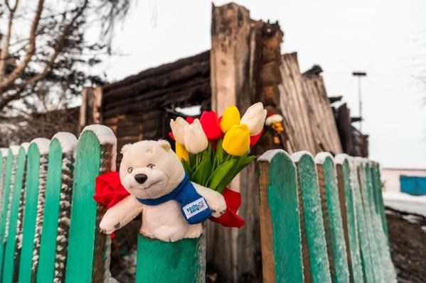 В пожаре у Евсюкова погибли жена и четверо детей — им было от 1 года до 5 лет
