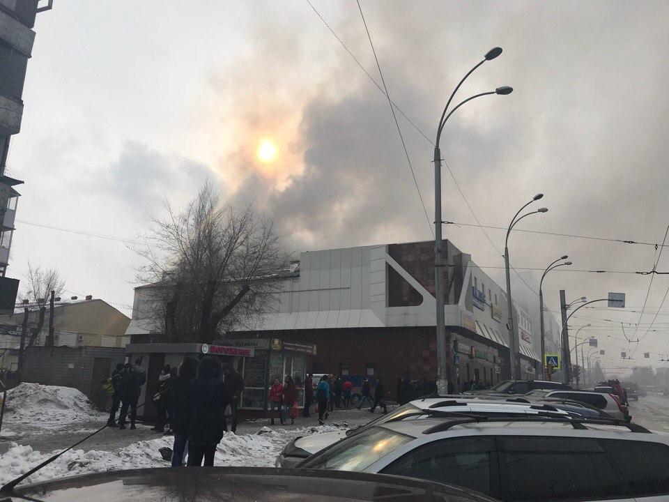 Предположительно, очаг возгорания был в одном из кинозалов