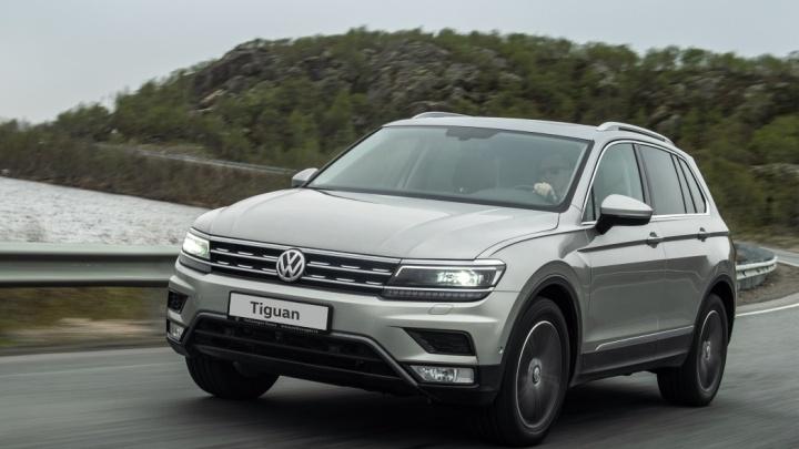 Volkswagen представил кроссовер Tiguan в новом исполнении Winter Edition