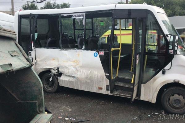 Авария произошла на улицеЛукашевича 31 августа около 10:40 утра