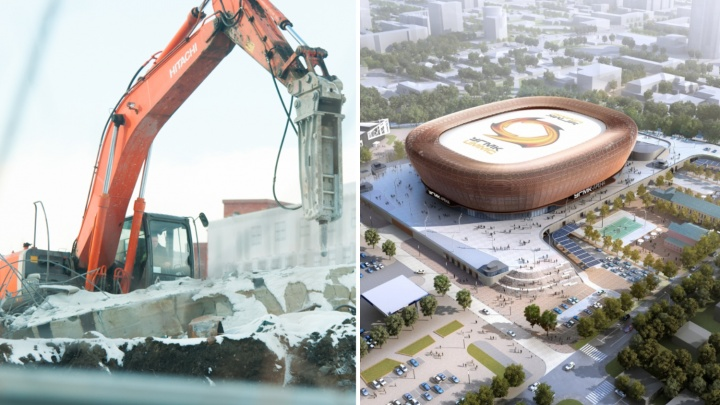 УГМК снесёт ещё одно здание, прежде чем приступит к строительству арены на месте телебашни