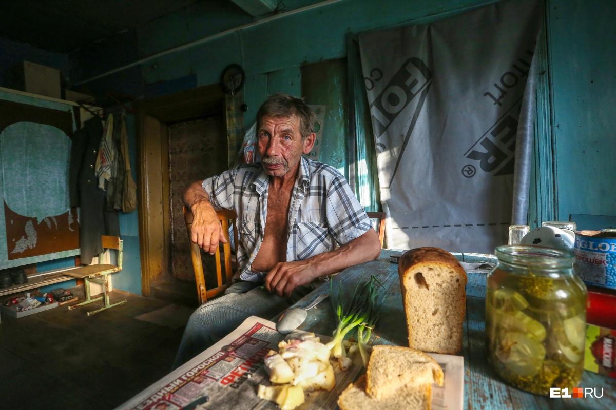Василий Жучков, бывший замглавы поселения. Общительный и гостеприимный человек