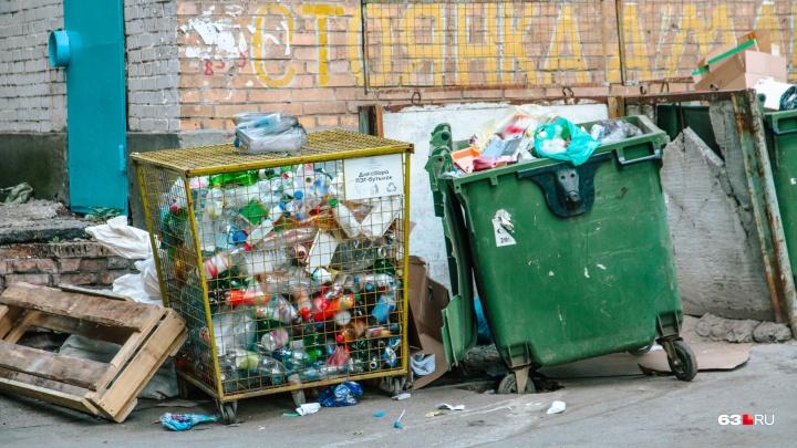 Власти Самарской области рассказали, куда отправляют мусор из раздельных контейнеров