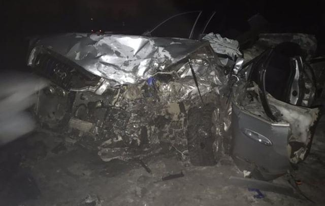 На трассе столкнулись две иномарки — один человек погиб, пятеро пострадали