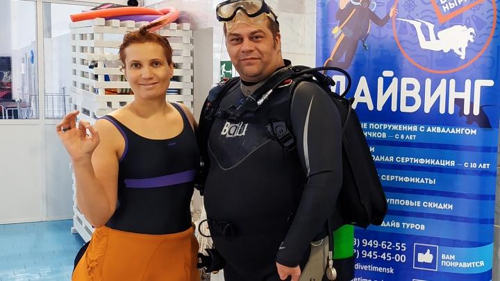 «Как в космосе, как в невесомости»: новосибирец с редкой болезнью преодолел страх и занялся дайвингом