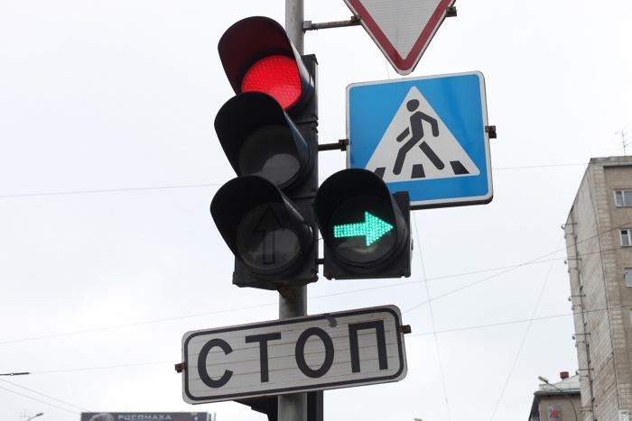 В мэрии Новосибирска поломку светофоров объяснили грозой