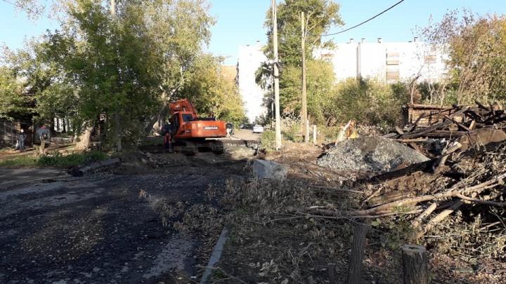 Госкомитет охраны культурного наследия потребовал прекратить стройку развязки в центре Челябинска
