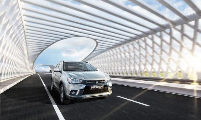 Один из самых доступных кроссоверов Mitsubishi ASX заходит в Красноярск