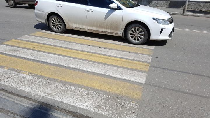 На дорогах Кургана за десять дней пострадали восемь пешеходов