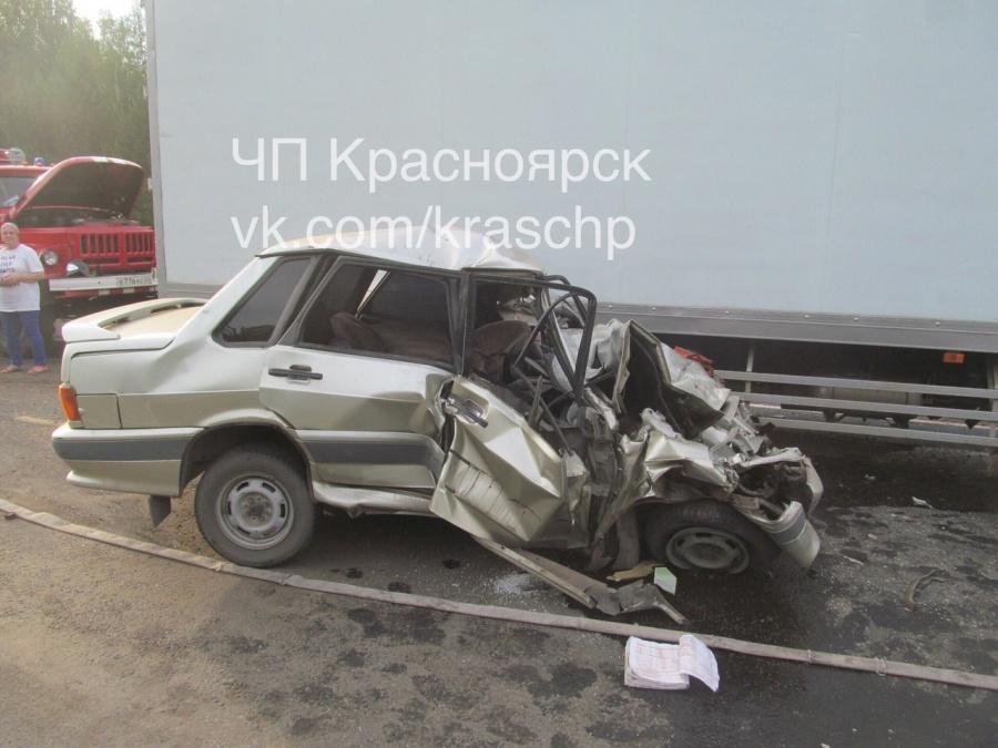 ВКрасноярском крае жертвой ДТП стал один человек