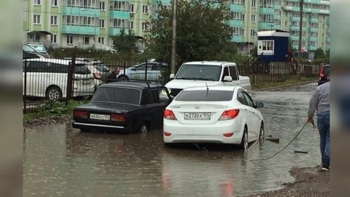 «Новые ливнёвки справляются»: мэр прокомментировал подтопления в Красноярске