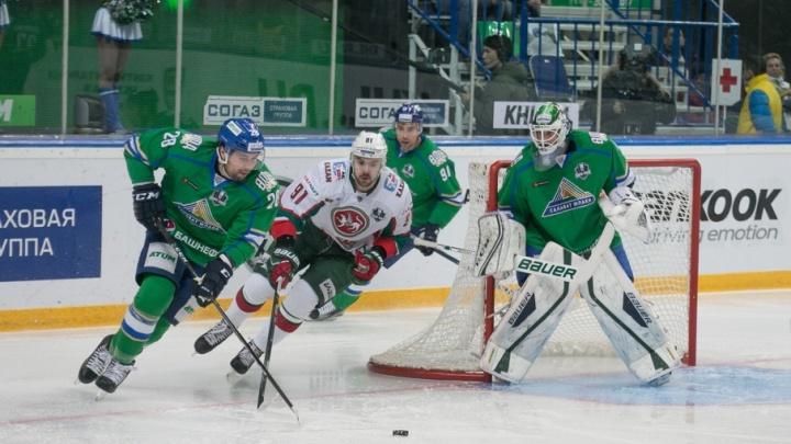 Вратарь «Салавата Юлаева» выступит на «Кубке Карьяла»