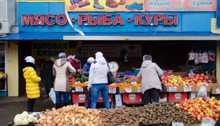 В Красноярске стремительно исчезают рынки. Число мест на них сжалось в разы