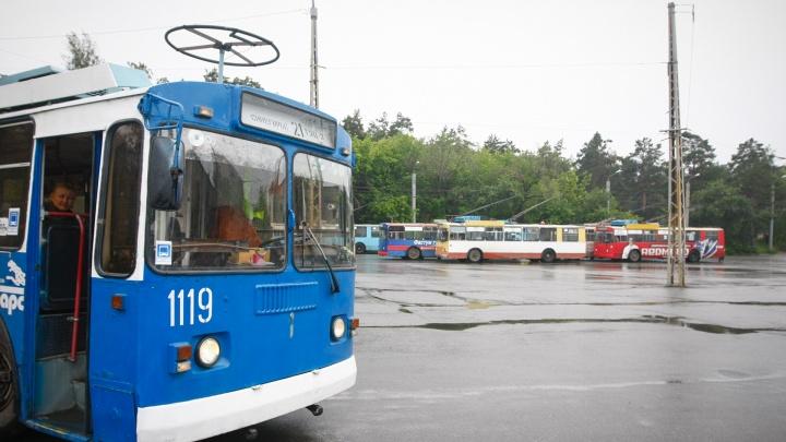 На выходные в Челябинске изменят четыре троллейбусных маршрута