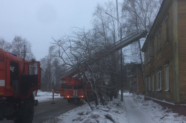 Пожар тушили 31 человек и 10 единиц техники