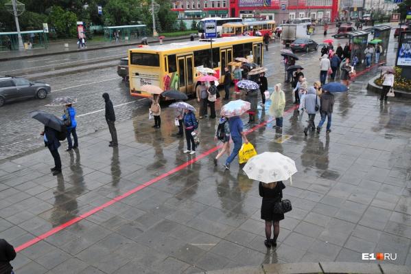 Зонтики на этой неделе пригодятся