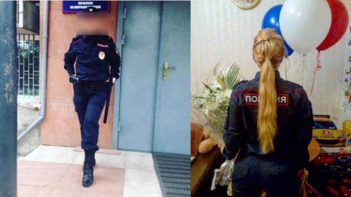 «Хотели подорвать репутацию»: блондинка из красноярской полиции объяснила откровенные фото в сети