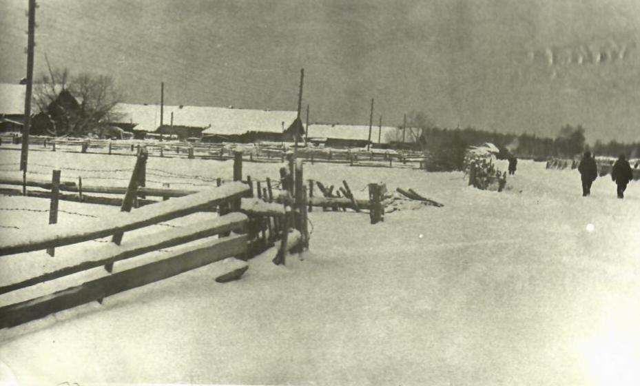 Вот так деревня выглядела в 1960-е годы