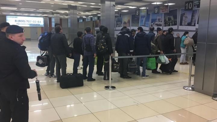 Из Екатеринбурга выдворили 26 иностранцев, среди которых был кубинец