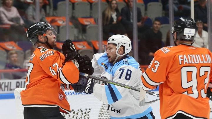 Хоккей: «Сибирь» всухую проиграла хабаровскому «Амуру»