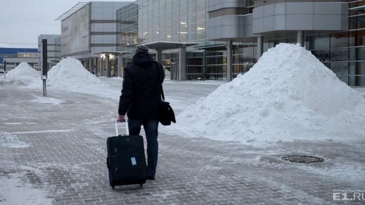 """В новогодние каникулы приставы будут круглосуточно """"отпускать"""" долги в аэропорту Кольцово"""