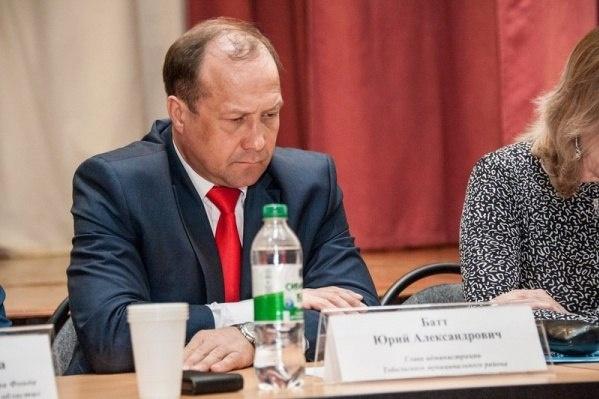 Юрий Батт подал в отставку 14 января 2020 года