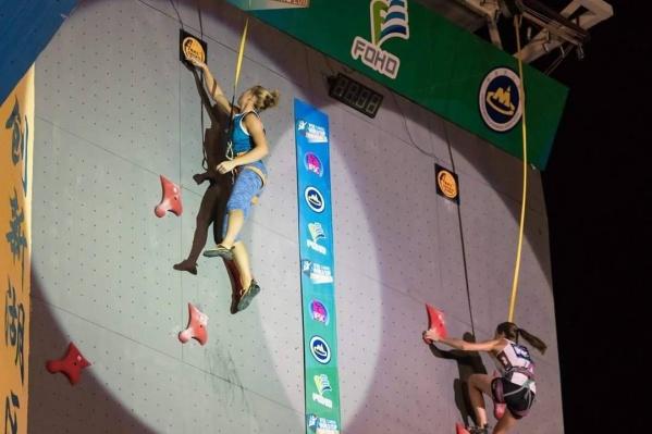 Спортсмены соревновались в дисциплинах «скорость» и «трудность»