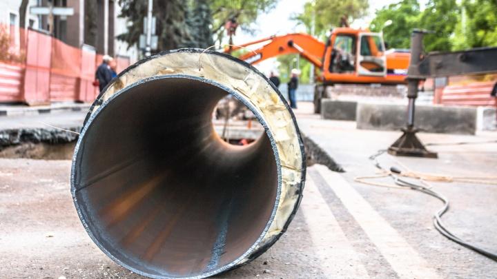 В Самаре нет техники, которая необходима для ремонта трубопровода на Ракитовском шоссе