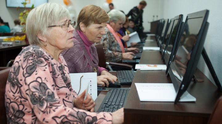 В Прикамье более трёх тысяч предпенсионеров обучат компьютерной грамотности и цифровым технологиям