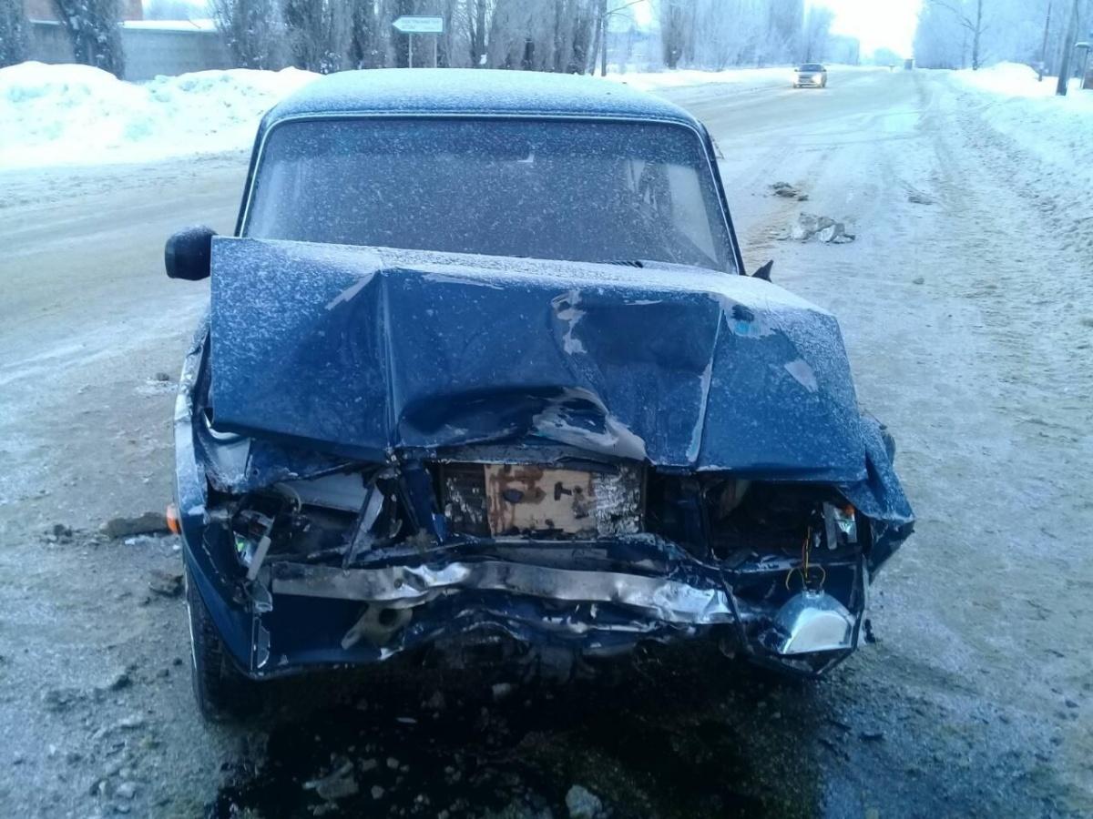 Автомобили получили серьезные механические повреждения