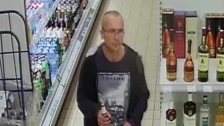В Волгограде ищут мужчину, очень удачно сходившего в магазин