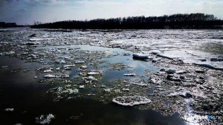 Ледоход на Иртыше спрогнозировали на следующую неделю