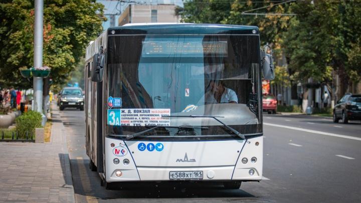 Ростовский общественный транспорт изменит маршруты в День города